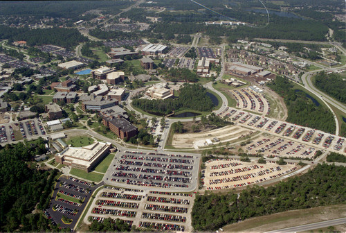 UCF Campus Area Aerial Shot