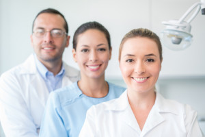 smiling dentists