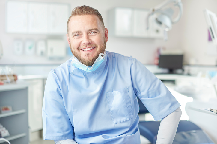 male dentist